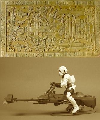 Sarcophage du roi Maya Pacal et